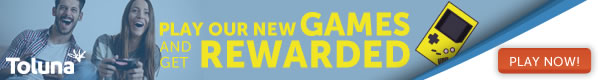 Play our new games and get rewarded!